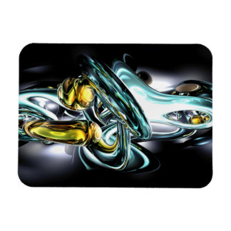 Fluidity Abstract Large Magnet