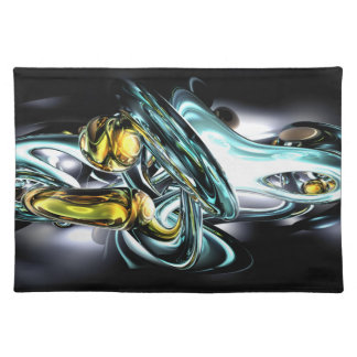 Fluidity Abstract Placemats