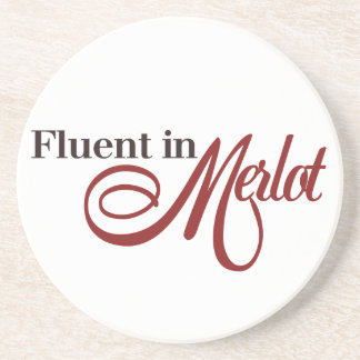 Fluido en Merlot Posavasos Para Bebidas