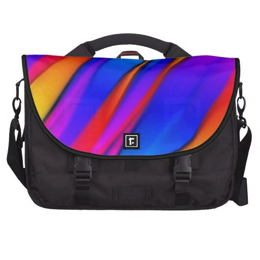 Fluir color bolsas de portátil