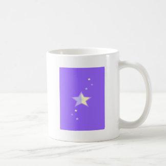 Fluir la estrella taza clásica