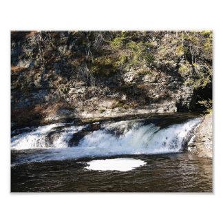 Fluir la impresión de las aguas 10x8 Phototgraphic Impresiones Fotograficas