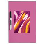 Flujo abstracto - amarillo púrpura pizarra