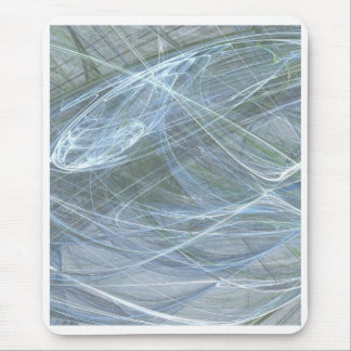 Flujo azul de Halima Ahkdar Tapetes De Raton