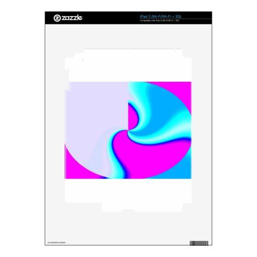 FLUJO CENTRAL iPad 2 SKIN