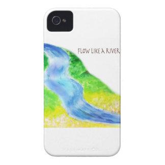 Flujo como un río iPhone 4 carcasas