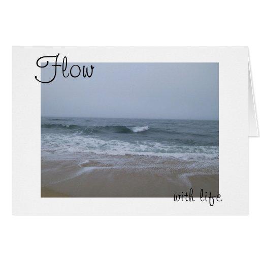 Flujo con vida tarjeta