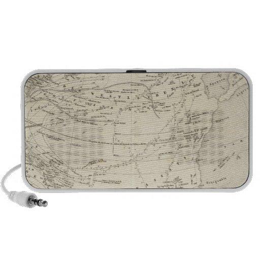 Flujo de aire Atlántico Norte iPod Altavoces