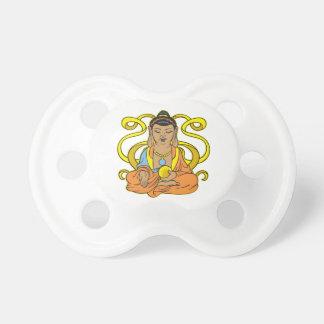 Flujo de energía de Buda Chupetes De Bebe
