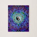 Flujo de energía de Yin Yang Rompecabeza Con Fotos