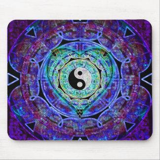 Flujo de energía de Yin Yang Alfombrilla De Ratón