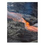 Flujo de lava de Kilauea Postal