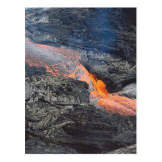 Flujo de lava de Kilauea Postales