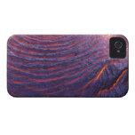 Flujo de lava de Pahoehoe del volcán de Kilauea Carcasa Para iPhone 4