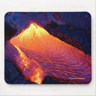 Flujo de lava mousepads