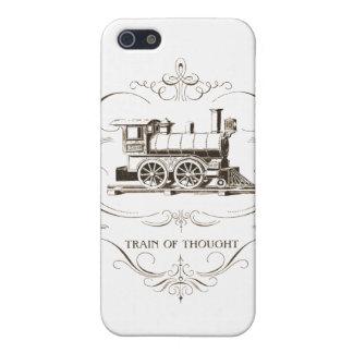 Flujo de pensamiento del vintage iPhone 5 carcasa