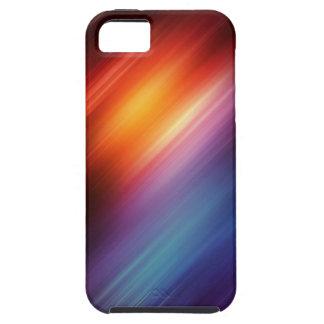 Flujo del color iPhone 5 fundas