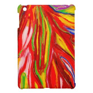 Flujo en colores pastel abstracto (expresionismo a iPad mini cobertura