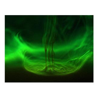 Flujo/fluoresceína en agua postal