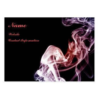 Flujo mágico - tarjeta de visita del humo