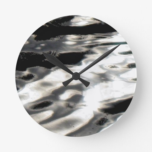 Flujo Reloj Redondo Mediano