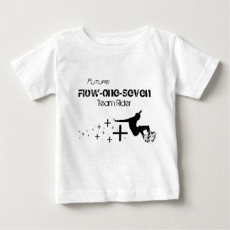 Flujo-Uno-Siete: Camisa infantil del jinete del