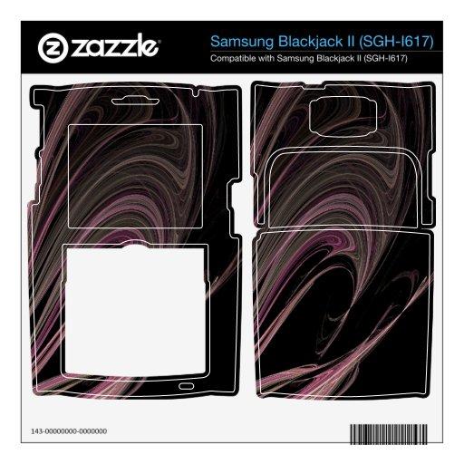 Flujos del rosa del fractal samsung blackjack II skin