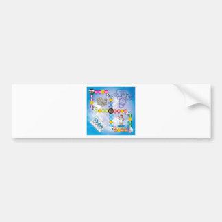 Fluke Boardgame Bumper Sticker