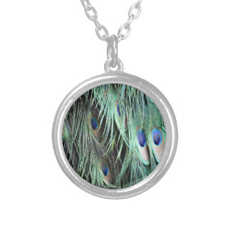 Flume Falls Silver Plated Necklace