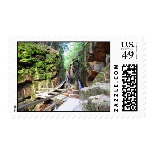 Flume Gorge New Hampshire Stamps