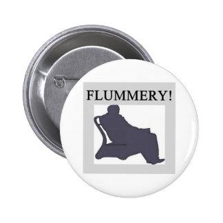 flummery pinback button