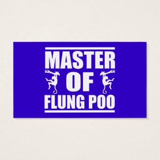 Flung Poo Master Business Card