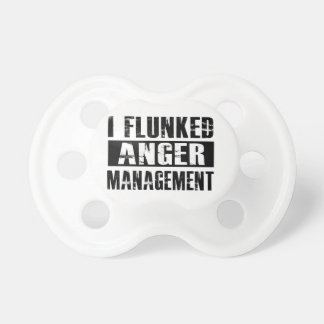 Flunked anger management BooginHead pacifier