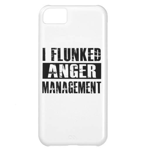 Flunked anger management cover for iPhone 5C