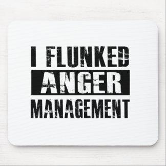 Flunked anger management mouse pad