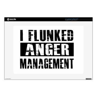 Flunked anger management laptop skins