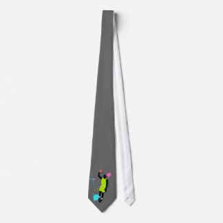 Fluo Basketball Player Tie