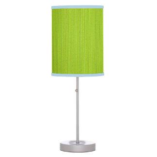 Fluo Green Corrugated Cardboard Table Lamp