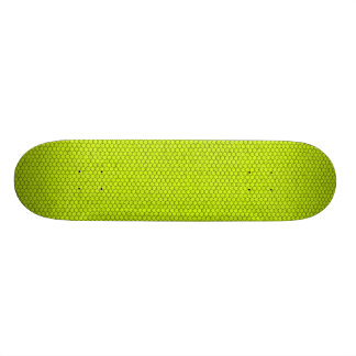 Fluo Green Snake Skateboard Deck