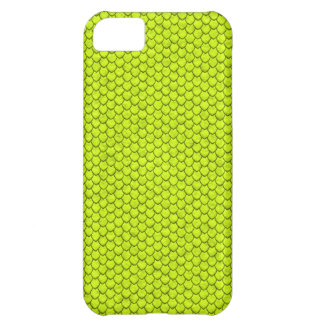 Fluo Green Snake Skin iPhone 5 Cover