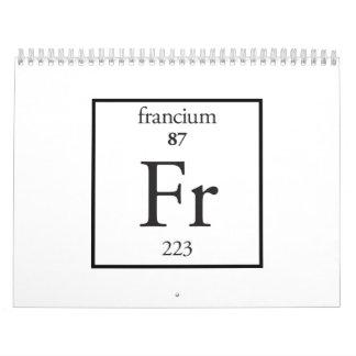 Flúor Calendarios