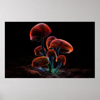 Fluorescence (2009) print