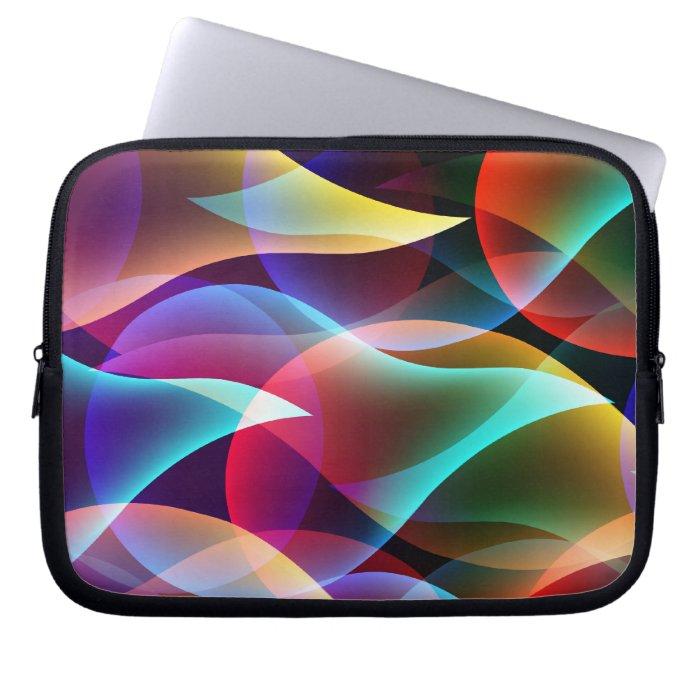 Fluorescence Colorful Laptop Sleeve