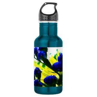 Fluorescence 18oz Water Bottle