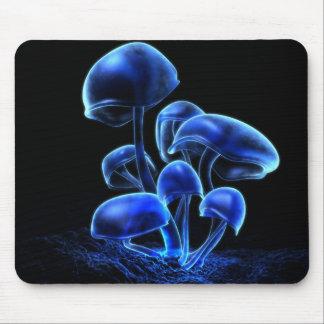 Fluorescencia (2009) Mousepad azules
