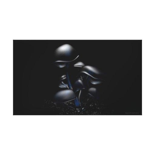 ¡Fluorescencia oscura (diga NO a SOPA/PIPA)! Lienzo Envuelto Para Galerías
