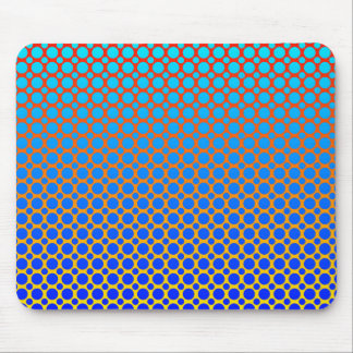 Fluorescent Abstract Mouse Pad