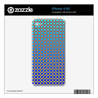 Fluorescent Abstract Decal For The iPhone 4S