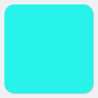 Neon fluorescent bleu