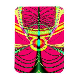 Fluorescent Butterfly Fractal Magnet